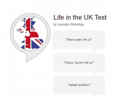 Life in the UK – Alexa skill